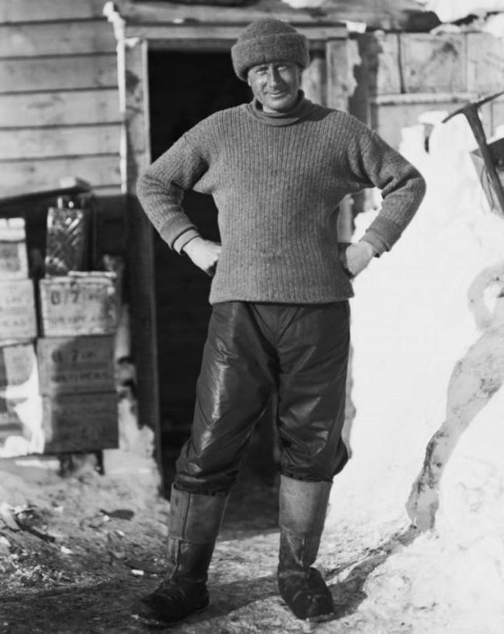 Edward Wilson morreu durante a expedição do capitão Robert Falcon Scott ao Polo Sul (Foto: Canterbury Museum)