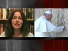 Papa volta para Roma depois de peregrinação na Terra Santa