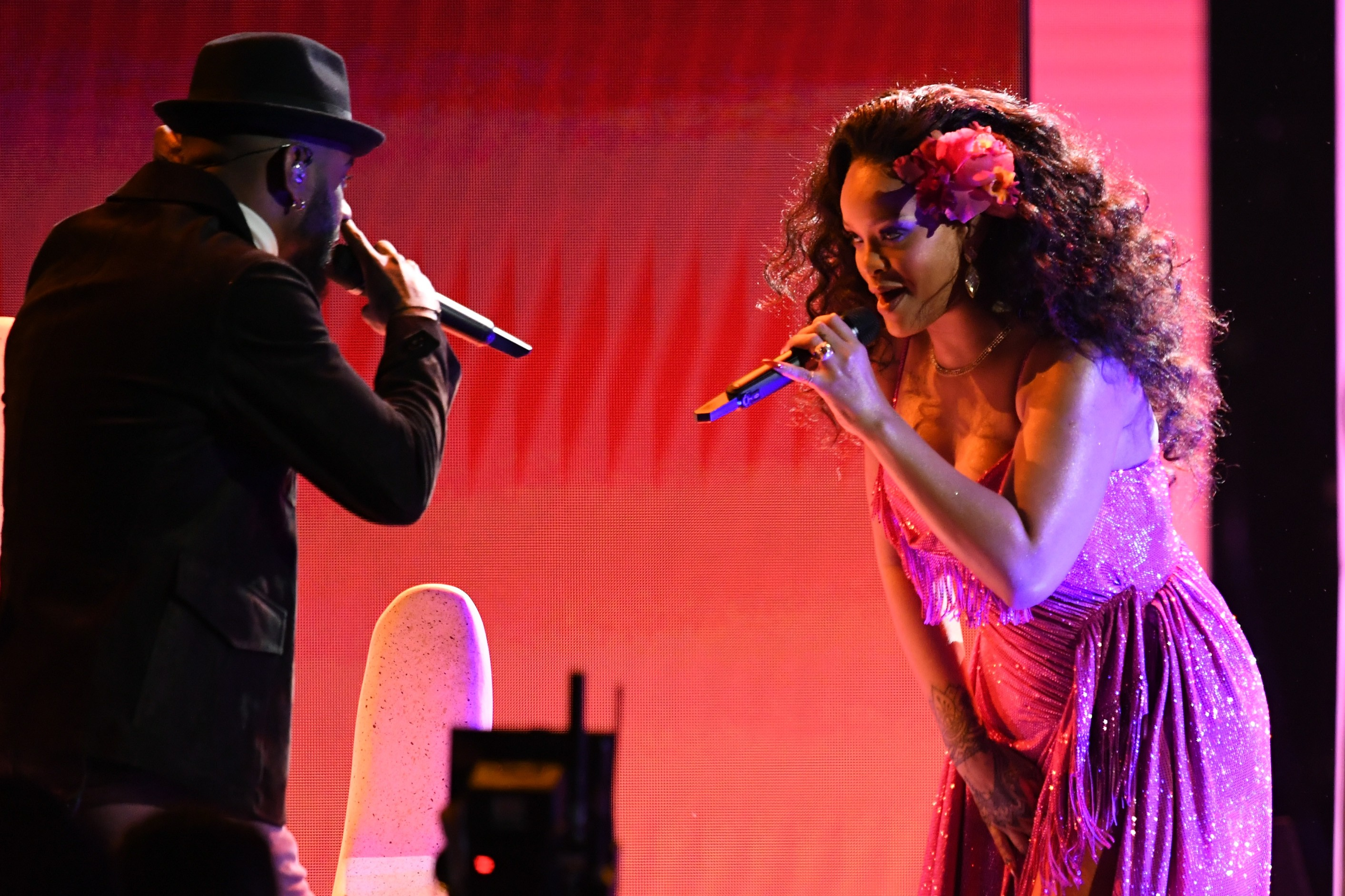 Bryson Tiller e Rihanna (Foto: Getty Images)