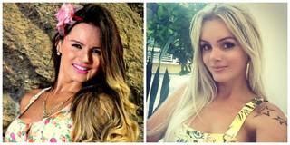 Thalita Zampirolli no antes e depois do nariz (Foto: Reprodução/Instagram)