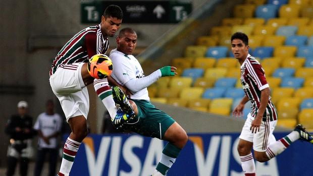 Gum e Walter em Fluminense x Goiás (Foto: Nelson Perez/Flickr Fluminense)