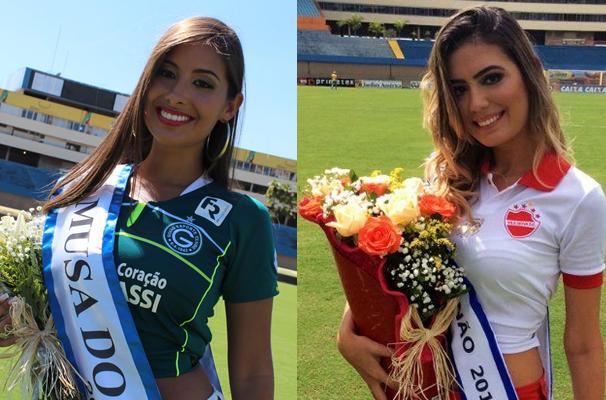 Hélika Rios e Michelle Asevedo. (Foto: TV Anhanguera)