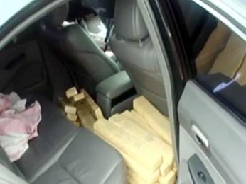 Investigações começaram após apreensão de uma tonelada de droga com suspeito. (Foto: Divulgação Gaeco-MT)