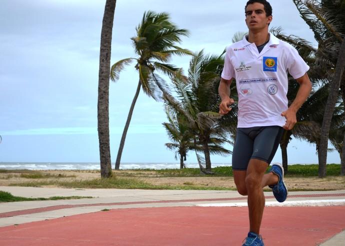 Rômulo Menezes correrá 5 quilômetros  (Foto: Felipe Martins/GLOBOESPORTE.COM)