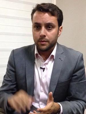 Julio Brant candidato Vasco  (Foto: Raphael Zarko)