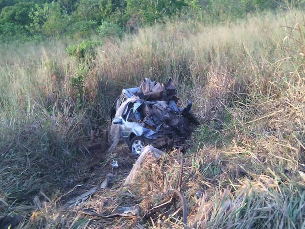 DPT só conseguiu retirar os corpos na manhã desta sexta-feira (24) (Foto:  girodenoticias )