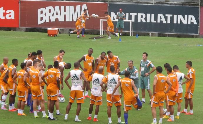 Treino Fluminense, Laranjeiras (Foto: Fred Huber)