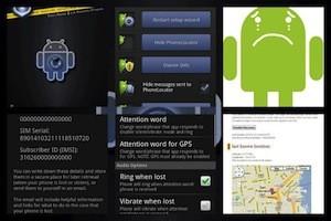 Android Lost Free registra fotos da câmera do dispositivo remotamente (Foto: Reprodução)