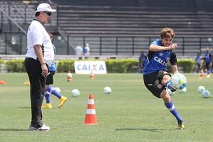Joel e Maxi Rodriguez treino vasco (Foto: Marcelo Sádio / vasco.com.br)