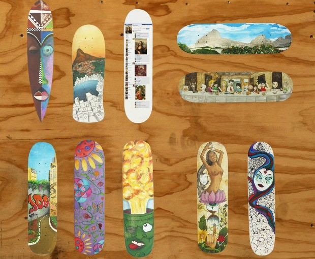 exposição skate (Foto: Estúdio Belas Artes)