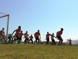 Avaí treinamento (Foto: Diego Madruga)