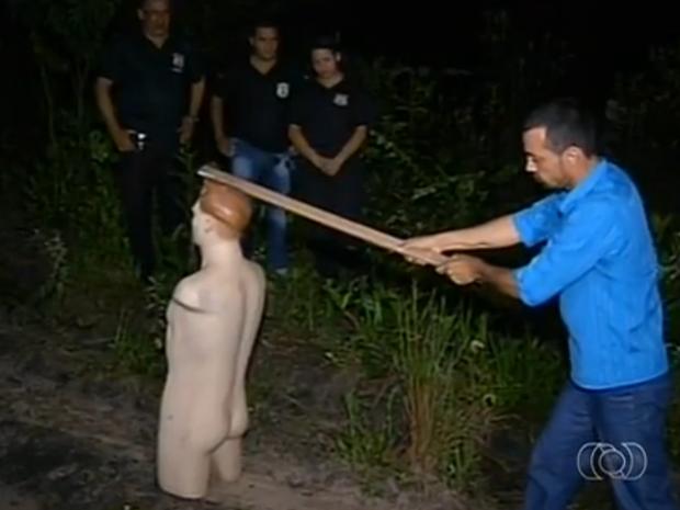 João Batista diz que o plano de matar empresários de Araguaína deu errado (Foto: Reprodução/TV Anhanguera)