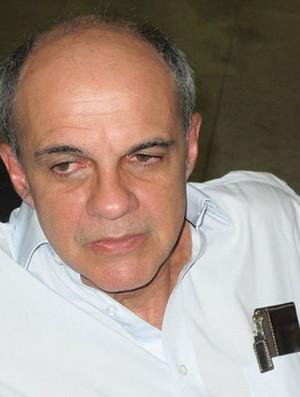 Eduardo Bandeira de Mello presidente flamengo em belém (Foto: Richard Souza)