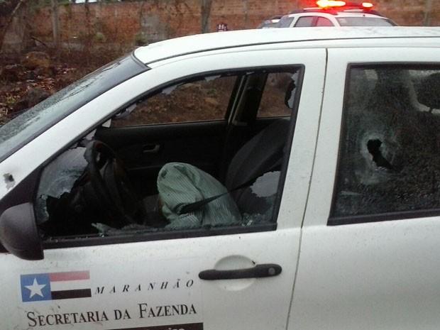 Corpo de Saraiva foi encontrado no interior do carro (Foto: Divulgação / Polícia)