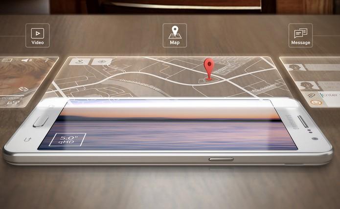 Galaxy Gran Prime já lançado pela Samsung, tem mesmo tamanho de tela do modelo de nome semelhante, Samsung Galaxy Gran On, com 5 polegadas (Foto: Divulgação/Samsung)
