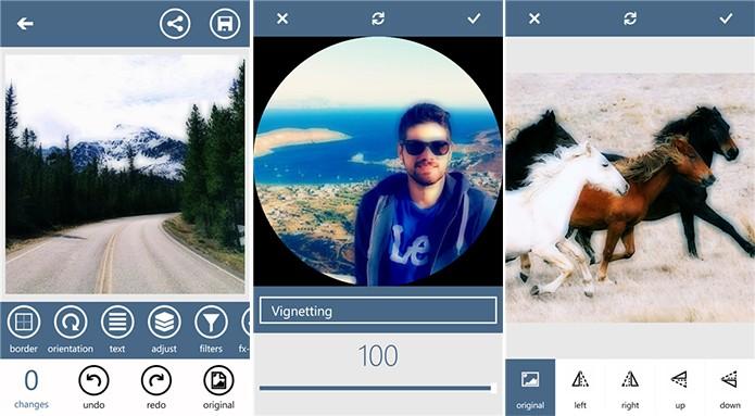 Gloomlogue é uma aplicativo para Windows Phone que faz edições em fotografias (Foto: Divulgação/Windows Phone Store)
