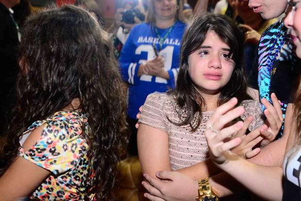 Elenco de Chiquititas se emociona em despedida (Foto: Leo Franco/AgNews)