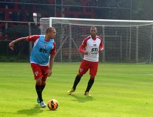 Luis Fabiano - Paulo Miranda - São Paulo (Foto: Site Oficial / saopaulofc.net)