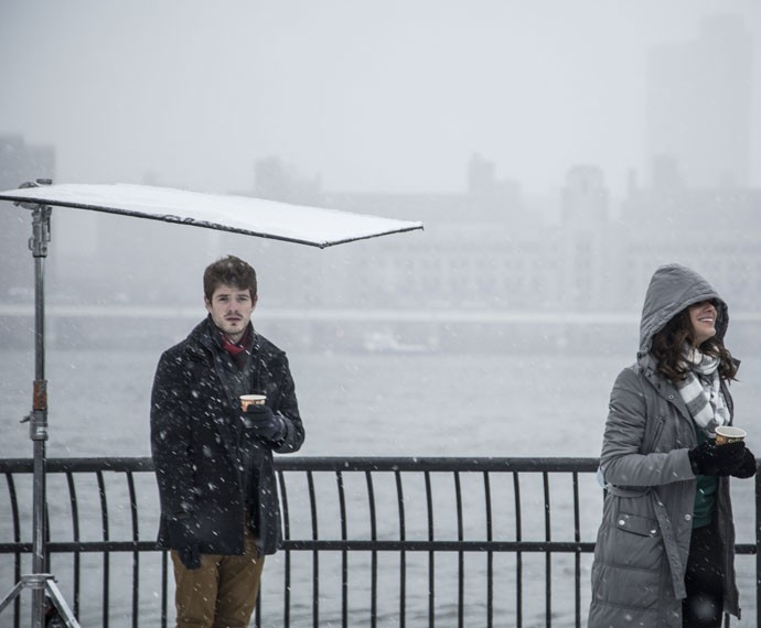 Maurício Destri e Bruna Marquezine se divertem em Nova York (Foto: Raphael Dias/Gshow)