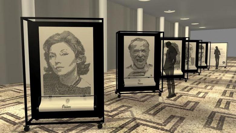 exposição-retratos-datilografados (Foto: Divulgação)