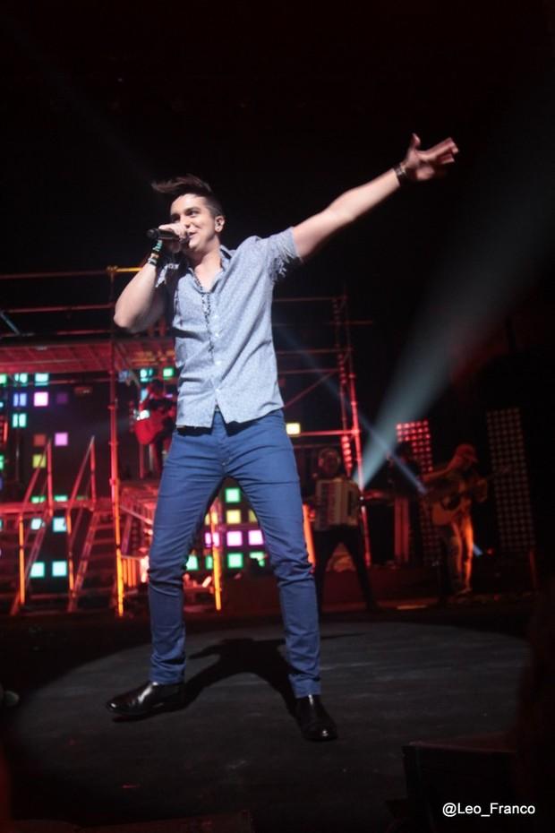 Luan Santana  (Foto: Léo Franco/AgNews)