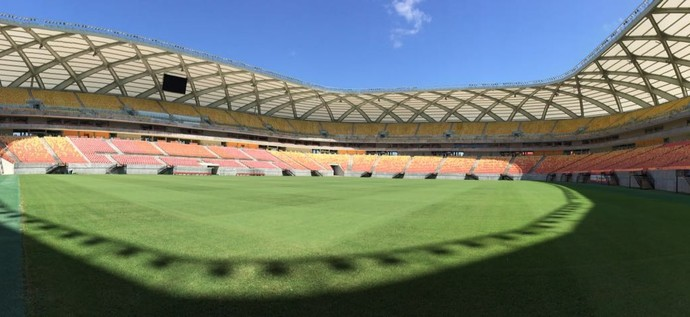 Arena da Amazônia, Manaus-AM (Foto: Matheus Castro)