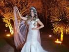 Ex-BBB Fabiana Teixeira se casa com empresário em São Paulo