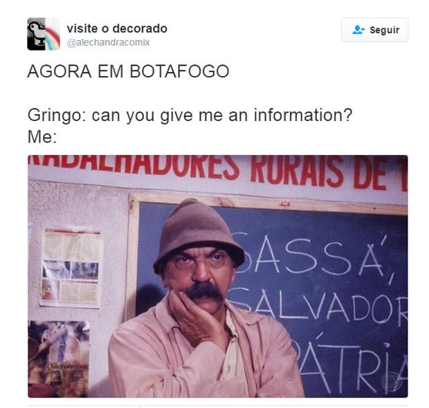 Meme botafogo (Foto: Reprodução/Twitter)