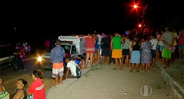 Homem é morto em Natal porque lutava para largar as drogas, diz PM (Foto: Reprodução/Inter TV Cabugi)