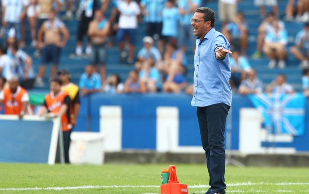 luxemburgo gr&#234;mio veran&#243;polis (Foto: Lucas Uebel/Gr&#234;mio FBPA)