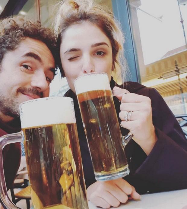 Felipe Andreoli e Rafa Brites (Foto: Reprodução)
