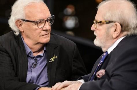 Ney Latorraca e Jô Soares (Foto: Ramon Vasconcelos/ TV Globo)