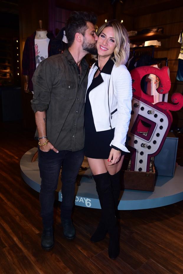 Bruno Gagliasso e Giovanna Ewbanck (Foto: Leo Franco /AgNews)
