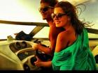 Apaixonados, Giovanna Lancellotti e Arthur Aguiar se divertem em Fortaleza