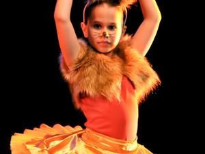 Festival ocorre até domingo (8) em Joinville (Foto: Mostra de Dança Infantil de Joinville/Divulgação)