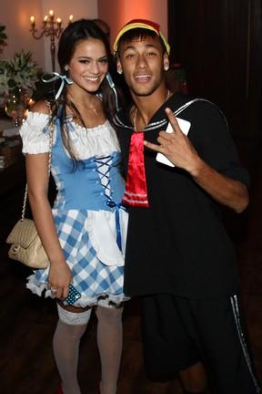 Bruna Marquezine e Neymar (Foto: Manuela Scarpa/ Foto Rio News)