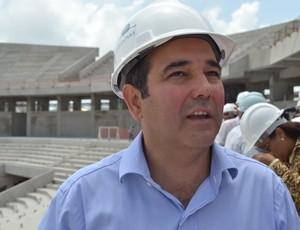 Charles Maia, engenheiro responsável da Arena das Dunas (Foto: Jocaff Souza)