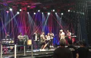 Lucas Lucco e Anitta encarnam dançarinos do É O Tchan em coreografia clássica do grupo