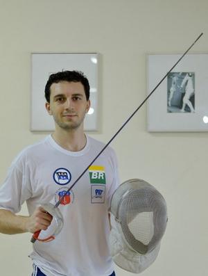 Renzo Agresta, esgrima  (Foto: Osvaldo F. / Contrapé)