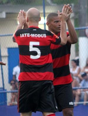 Flamengo goleia no Futebol de 7  (Foto: Rômulo Carrete/Jornal F7)