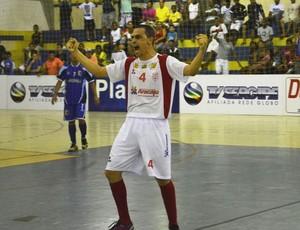 Pita comemora vitória de Aracaju na CTVSE (Foto: João Áquila (GLOBOESPORTE.COM))