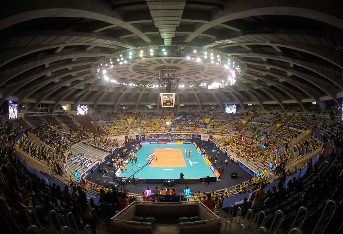 TR Estádio Maracanazinho (Foto: Dhavid Normando / Futura Press)