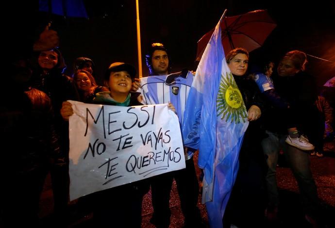 Argentina chegada Buenos Aires (Foto: Reuters)