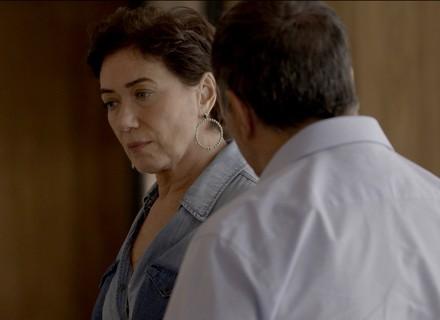 Silvana e Eurico batem de frente no primeiro capítulo de 'A Força do Querer'