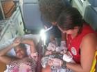 Mulher entra em trabalho de parto e dá à luz em circuito do carnaval na Bahia