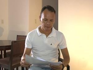Irian regularizou a situação do carro da esposa, mas não conseguiu recuperar o veículo (Foto: Reprodução/TV Cabo Branco)
