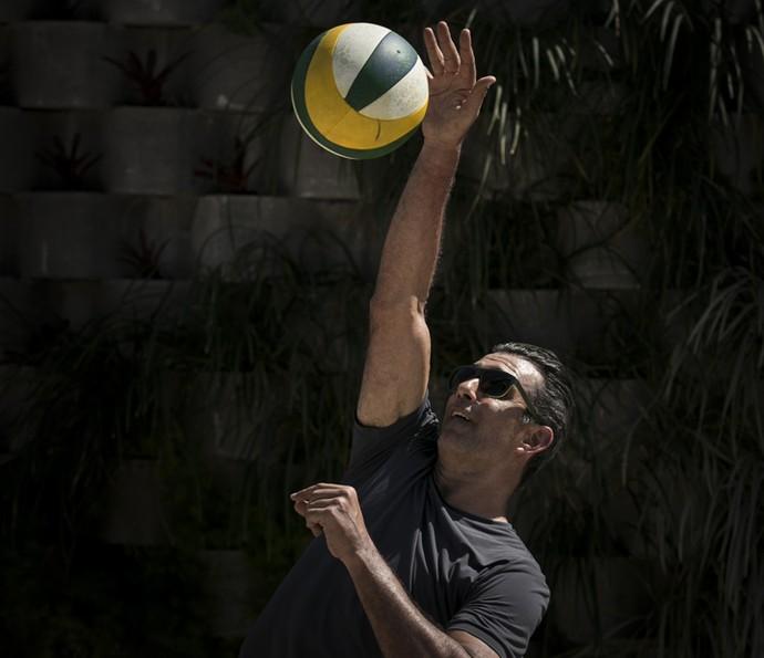 Ricardo também teve seus momentos (Foto: Raphael Dias/Gshow)