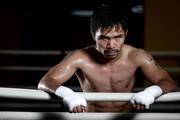 Manny Pacquiao (Foto: Chris Hyde/Getty Images)