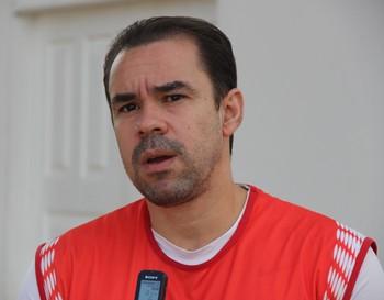 Adriano Louzada, atacante do Rio Branco-AC (Foto: João Paulo Maia)