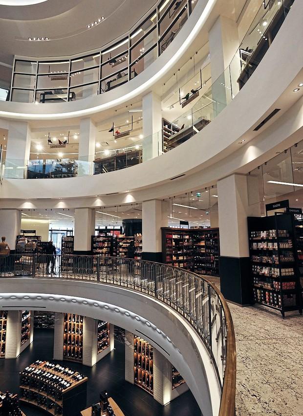 Luxo epicurista na Grande Épicerie do Bon Marché (Foto: Véronique Mati / Divulgação)